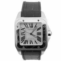 Cartier Santos 100 Automatic Watch W20073X8 (Mint)