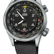 Oris Big Crown ProPilot Altimeter M, Black Textile