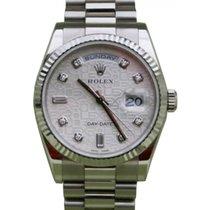 Ρολεξ (Rolex) Day-Date 36 118239-SLVJDP Silver Jubilee Dial...