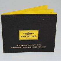 Breitling Internationale Garantie konditionen Heft