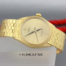 Rolex Oyster Perpetual 18K Gold Herrenuhr Ref 1009