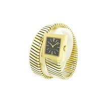 Bulgari SQ221T Serpenti Tubogas Square 22mm Quartz in Tri...