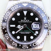 Rolex 40mm Gmt Master Ii 116710 Stainless Steel Black Bezel...