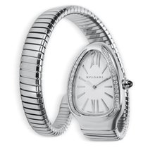 Bulgari Serpenti SP 35 S Women's Watch in Stainless Steel