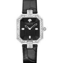 Graff Vendôme 18K White Gold & Diamonds Ladies Watch