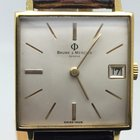 Baume & Mercier VINTAGE MENS SIZE 34MM GOLD PLATED LIKE NEW