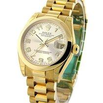 롤렉스 (Rolex) Unworn 178248 Mid Size Yellow Gold President -...