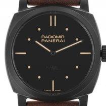 Panerai Radiomir 1940 3 Days Keramik Black Handaufzug Armband...