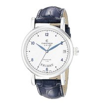 Chronoswiss CH1923 Sirius Day Date Automatic in Steel - on...