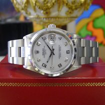 Rolex Oyster Perpetual Date 34mm Mother Of Pearl Stainless Steel