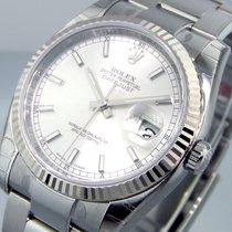 Rolex Datejust 116234 Steel 36 Mm Oyster Bracelet Silver Dial...