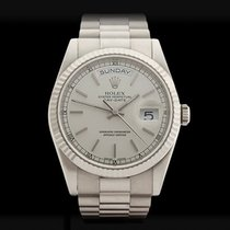 Rolex Day-Date 18k White Gold Unisex 118239 - W3470