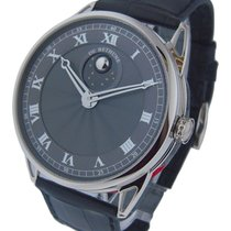 De Bethune DB25LWS8V1 De Bethune DB25 - White Gold on Strap...