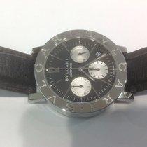Bulgari Chronograph stainless steel BB 38SL Ch