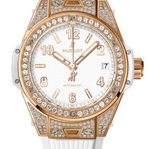 Hublot Big Bang One Click King Gold White Pave 39mm