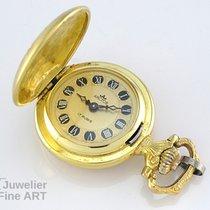 Arctos kleine Taschenuhr 14K Gelbgold - Handaufzug - 17,8g