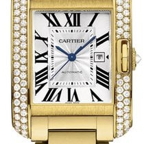 Cartier Tank Anglaise MEDIUM 18kt Yellow Gold AUTHENTIC wt100006