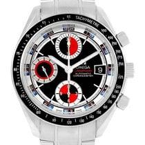 Omega Speedmaster Day Date Chronograph Watch 3210.52.00 Box...