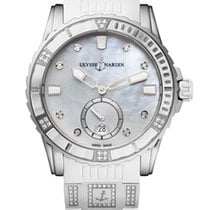 Ulysse Nardin Diver Lady Stainless Steel & Diamonds Watch