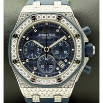 Audemars Piguet | Royal Oak Offshore Lady 18 Kt White Gold And...