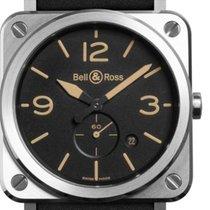 Bell & Ross Aviation Men's Watch BRS-HERI-ST/SCA