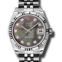 Rolex Unworn 178274dkmdj Mid Size Datejust with Jubilee...