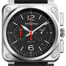 Bell & Ross BR03-94 Chronograph 42mm BR0394-BLC-ST/SCA