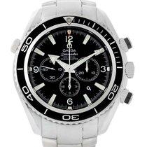 Omega Seamaster Planet Ocean Chronograph Watch 2210.50.00 Box...