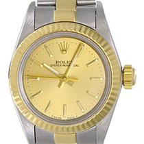 Rolex Lady Oyster Perpetual Ladies Watch 67193 Champagne Dial