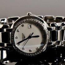 Longines PrimaLuna - 48 diamonds (0.403 carats) 11 Diamond hour