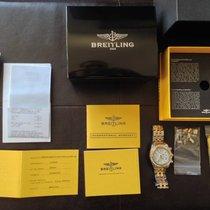 Breitling Chronomat Evolution 18K Rose Gold Diamonds