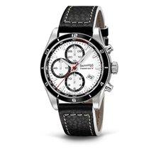 Eberhard & Co. Champion V cronografo, quadrante bianco e...