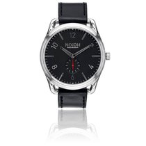 Nixon The C45 Leather Black/Red A465-008