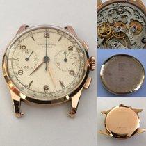Universal Genève Vintage Chronograph 18k pink gold