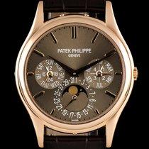 パテック・フィリップ (Patek Philippe) 18k Rose Gold Perpetual Calendar...