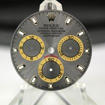 Rolex Zifferblatt für Daytona Gelbgold 116523/116528 Grau