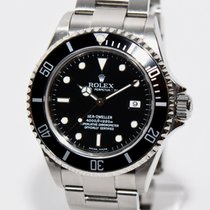 Rolex Sea Dweller Stahl Uhr 16600 von 2004 Papiere und Box