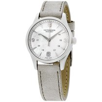 Victorinox Swiss Army Alliance Mop Dial Leather Strap Ladies...