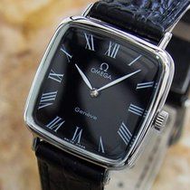 Omega Geneve Swiss Made Ladies 27mm Mid Size 1970s Manual...
