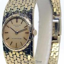 Patek Philippe Ladies Vintage 18K Yellow Gold Windup Watch...