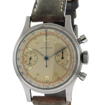 Wittnauer Chronograph - Stainless - Circa 1958 - Leather Strap