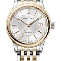 Maurice Lacroix Les Classique Date, Silver Dial Steel/Gold...
