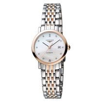 Longines Ladies L43105877 Elegant Automatic Watch