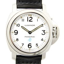 Panerai New  Luminor Stainless Steel White Manual Wind PAM00630