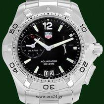 TAG Heuer Aquaracer  39mm Stainless Steel Alarm Black Dial