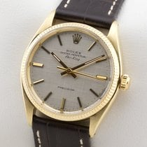 Rolex OYSTER PERPETUAL AIR KING 14K GOLD GELBGOLD AUTOMATIC