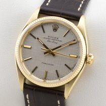 Ρολεξ (Rolex) OYSTER PERPETUAL AIR KING 14K GOLD GELBGOLD...
