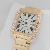 Cartier Tank Anglaise LARGE 18kt Rose Gold AUTHENTIC wt100004