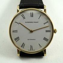 Audemars Piguet 18k round w/rare display back c.1980's