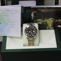 Rolex GMT Master II 16713 18K Yellow Gold & Stainless...